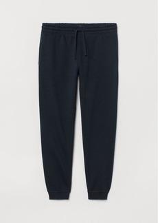 H&M H & M - Regular Fit Sweatpants - Blue