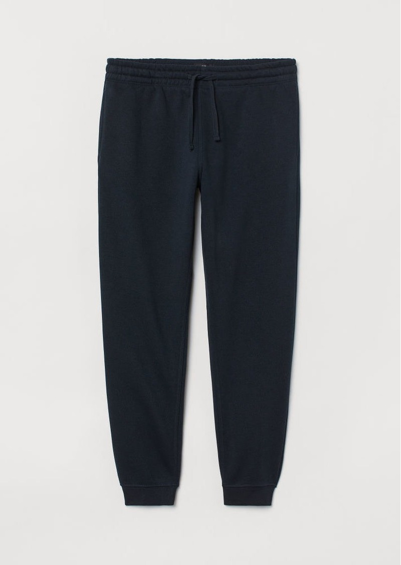 H&M H & M - Regular Fit Sweatpants - Blue