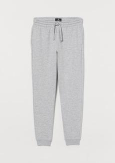 H&M H & M - Regular Fit Sweatpants - Gray