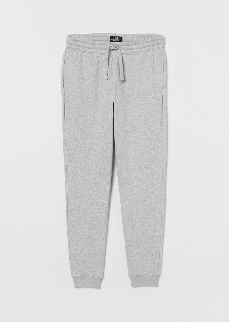 H&M H & M - Regular Fit Sweatpants - Gray