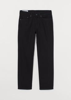 H&M H & M - Regular Jeans - Black