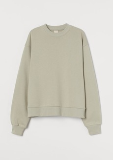 H&M H & M - Relaxed Fit Sweatshirt - Beige