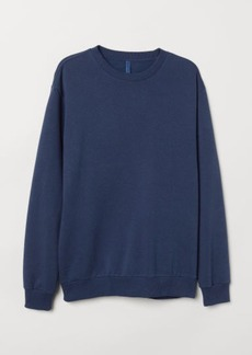 H&M H & M - Oversized Sweatshirt - Blue