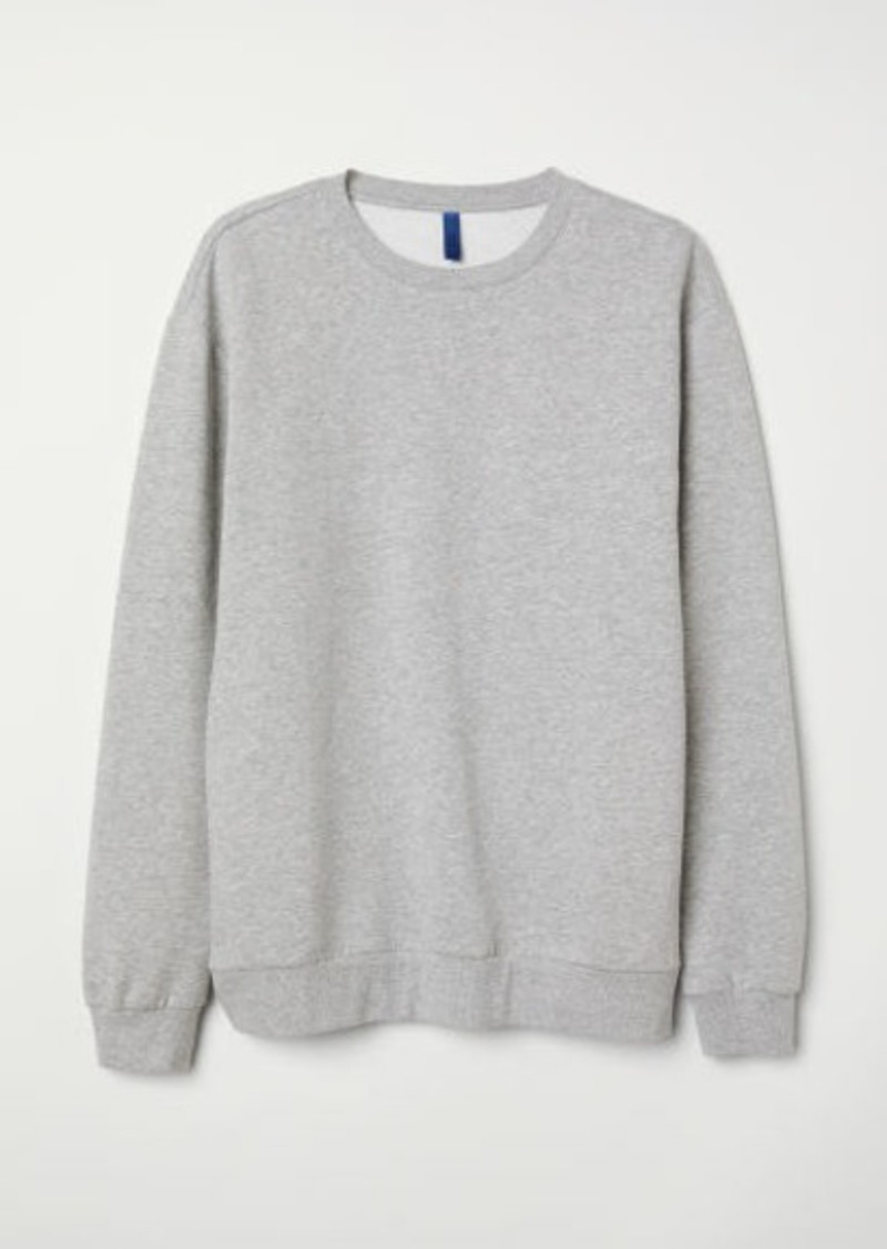 H&M H & M - Oversized Sweatshirt - Gray