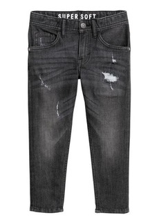 H&M H & M - Relaxed Tapered Fit Jeans - Black