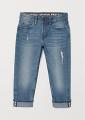 H&M H & M - Relaxed Tapered Fit Jeans - Blue
