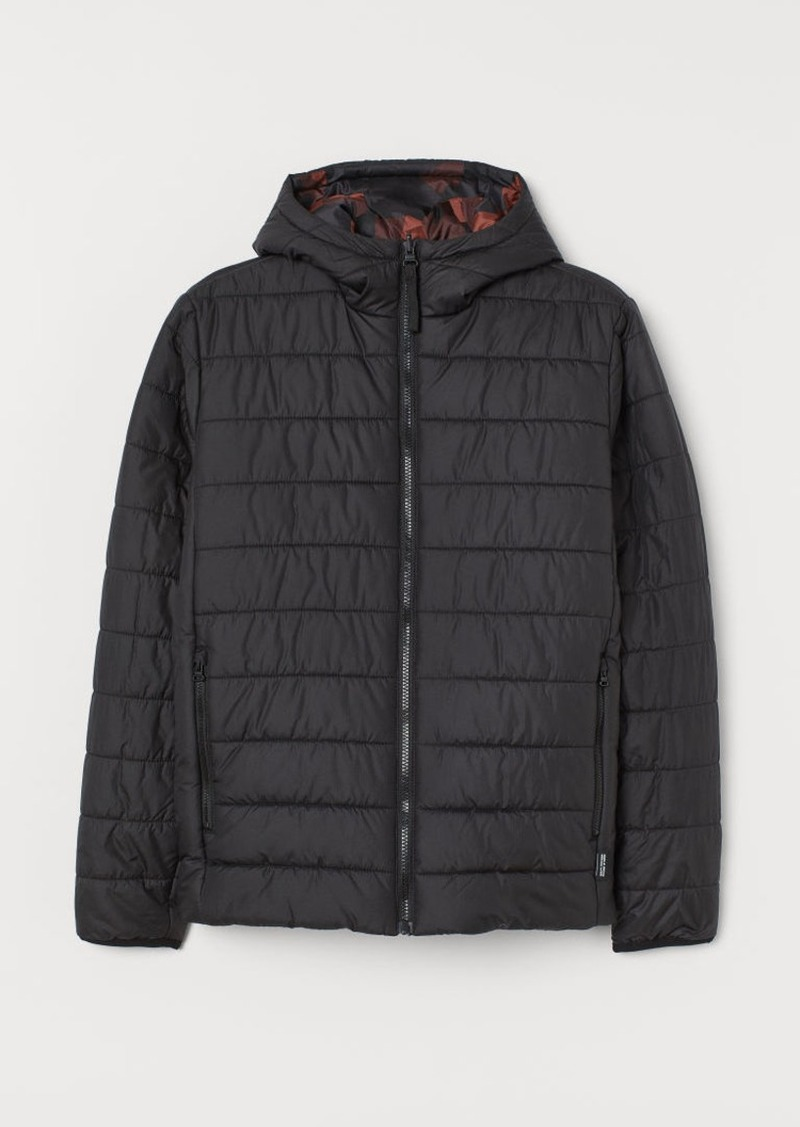 H&M H & M - Reversible Outdoor Jacket - Black