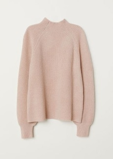 H&M H & M - Rib-knit Cashmere Sweater - Orange