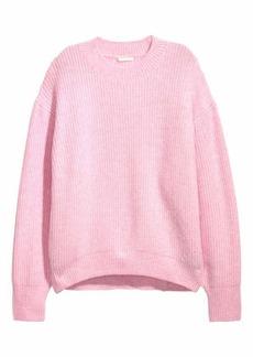 H&M H & M - Rib-knit Sweater - Orange - Women