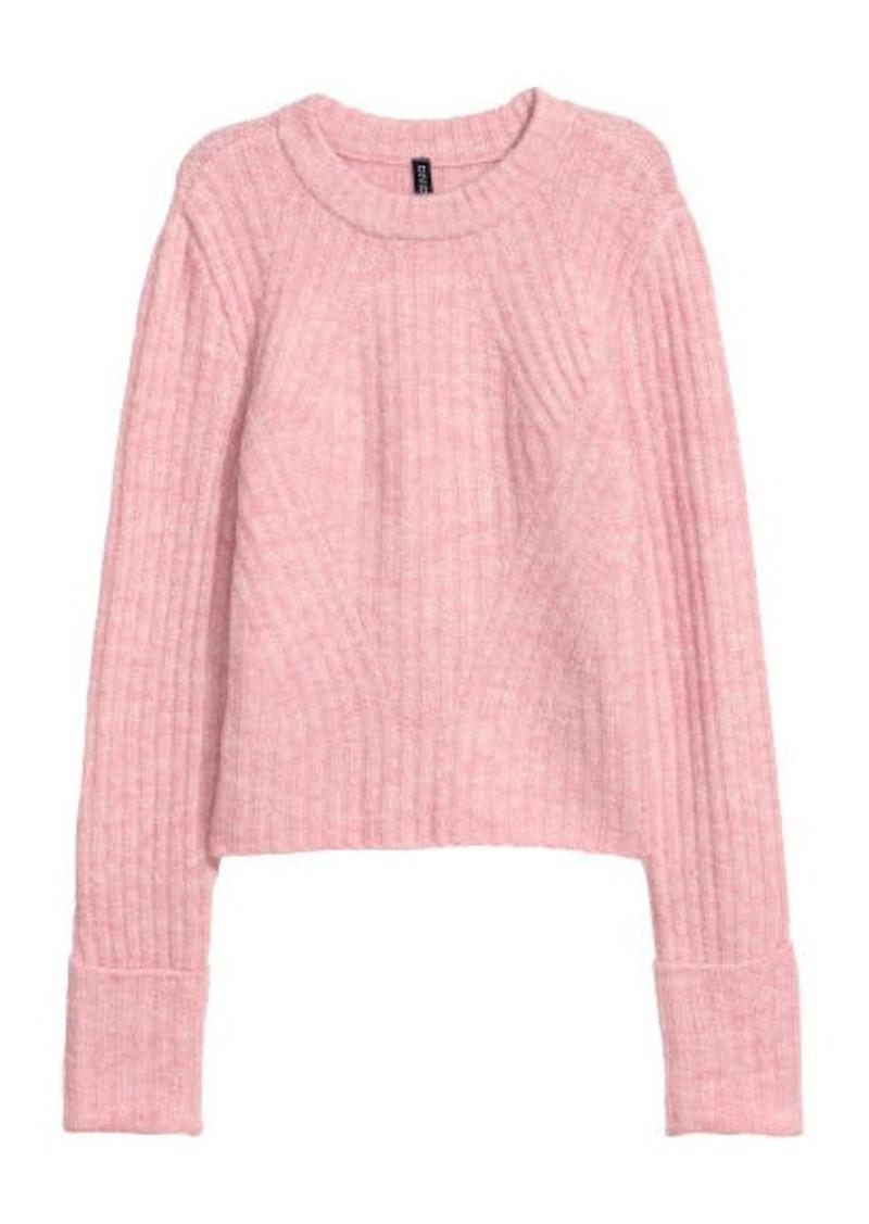 Fashion style Find Shoppingfab hm rib knit sweater for lady
