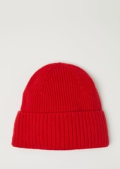 H&M H & M - Ribbed Cashmere Hat - Red