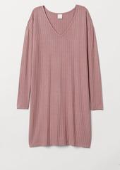 H&M H & M - Ribbed Dress - Pink