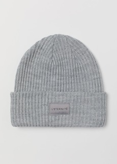 H&M H & M - Rib-knit Hat - Gray