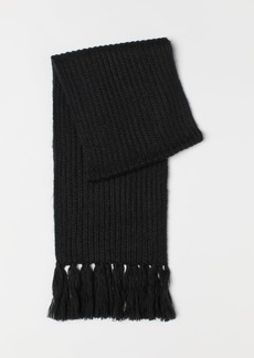H&M H & M - Rib-knit Scarf - Black
