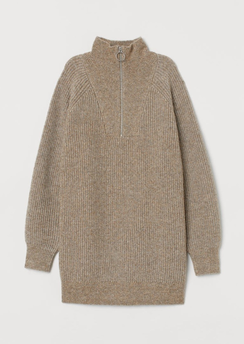 H&M H & M - Ribbed Sweater - Brown
