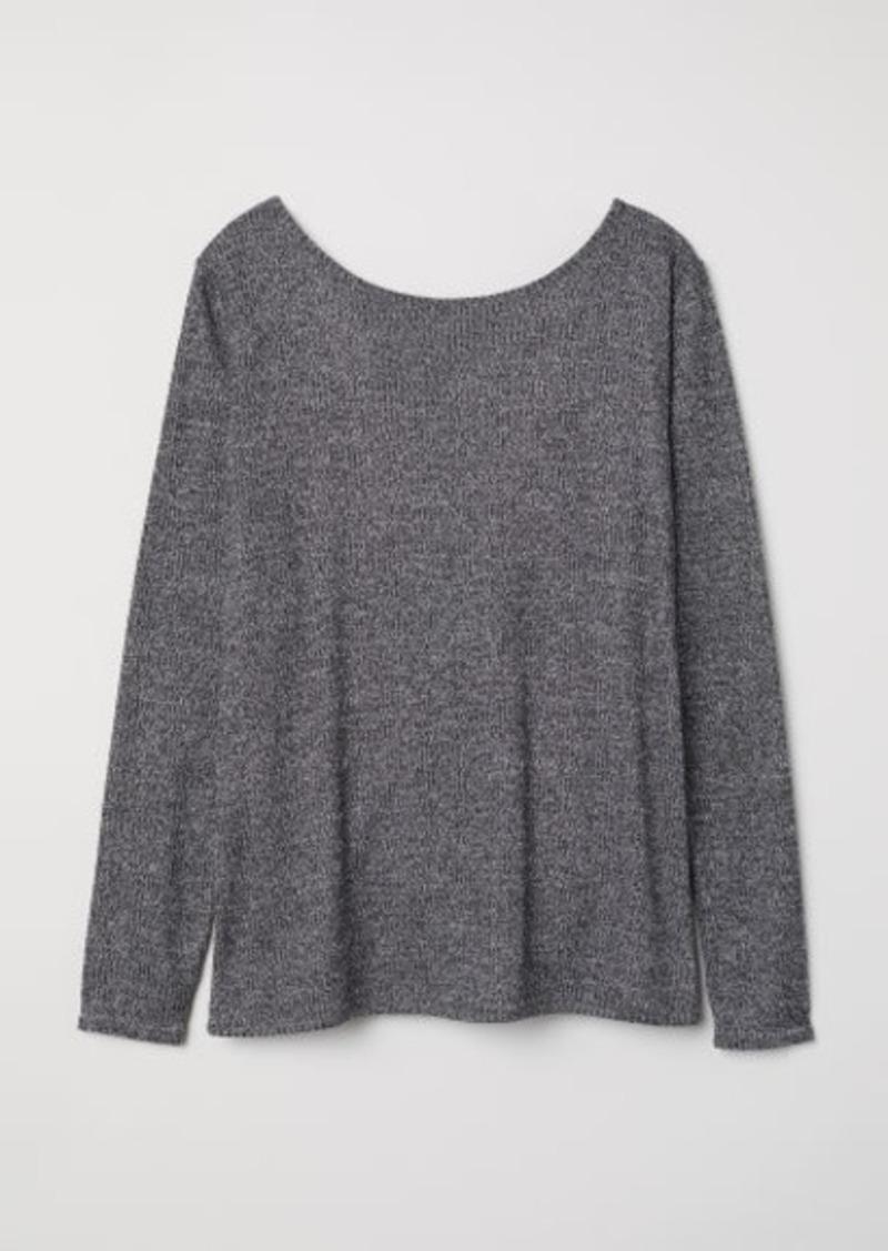 f8e9f4c62e83ea H&M H & M - Ribbed Top - Black | Casual Shirts