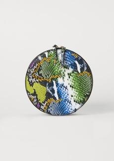 H&M H & M - Round Makeup Bag - Green