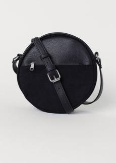 H&M H & M - Round Shoulder Bag - Black