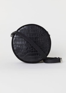 H&M H & M - Round Shoulder Bag - Black