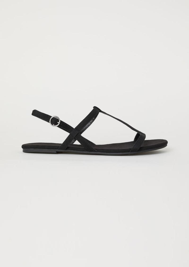 H \u0026 M - Sandals - Black - 30% Off!