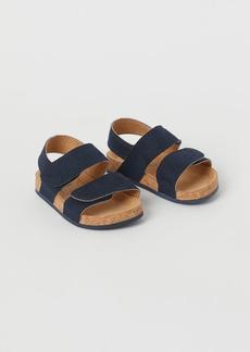 H&M H & M - Sandals - Blue