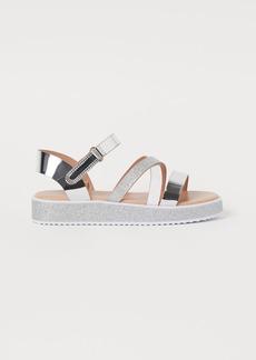 H&M H & M - Sandals - Silver