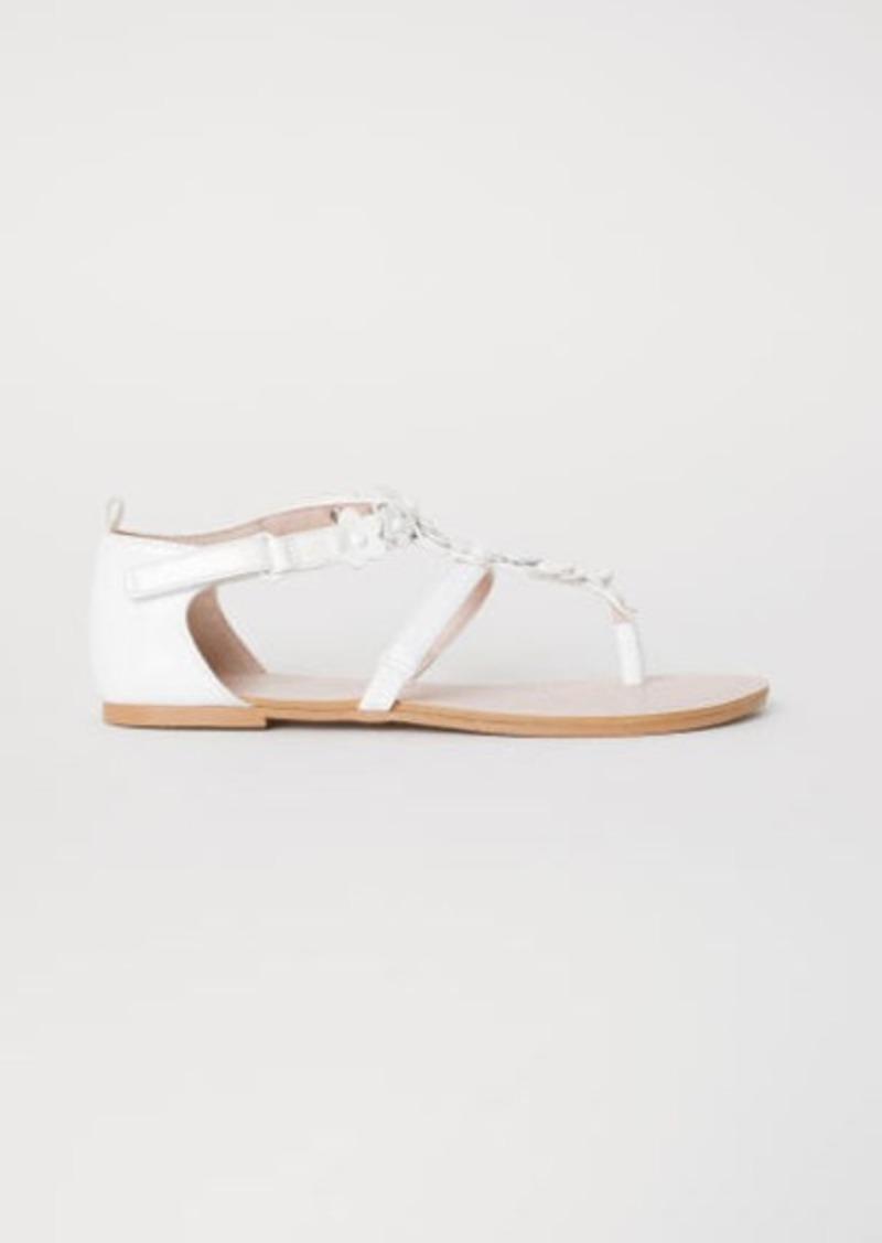 H&M H & M - Sandals - White