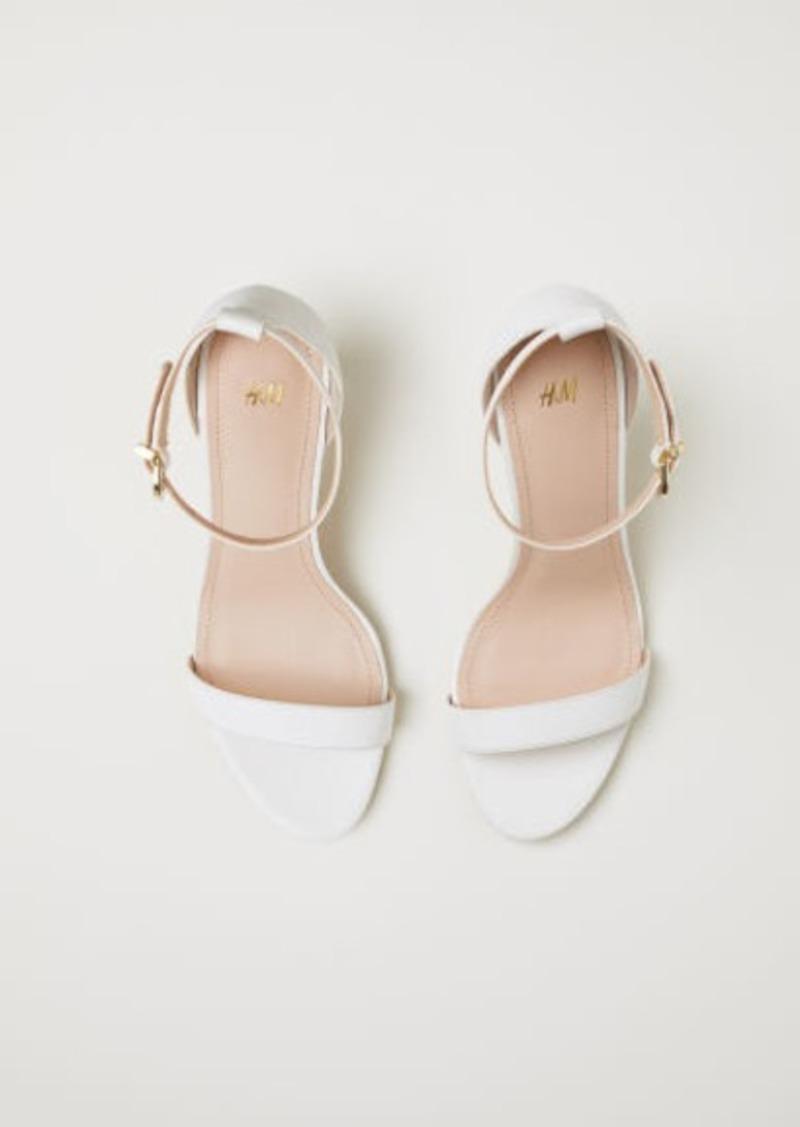 H \u0026 M - Sandals - White - 40% Off!