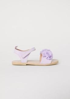 H&M H & M - Sandals with Appliqué - Purple