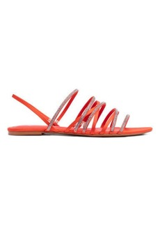 H&M H & M - Sandals with Rhinestones - Orange