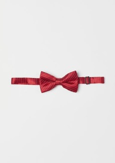 H&M H & M - Satin Bow Tie - Red