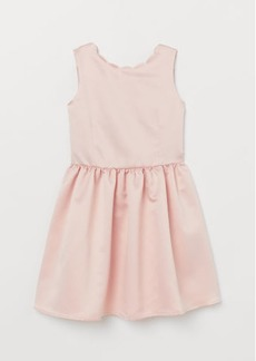 H&M H & M - Satin Dress - Pink