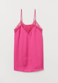 H&M H & M - Satin Nightgown - Pink