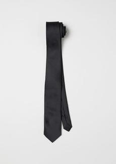 H&M H & M - Satin Tie - Black