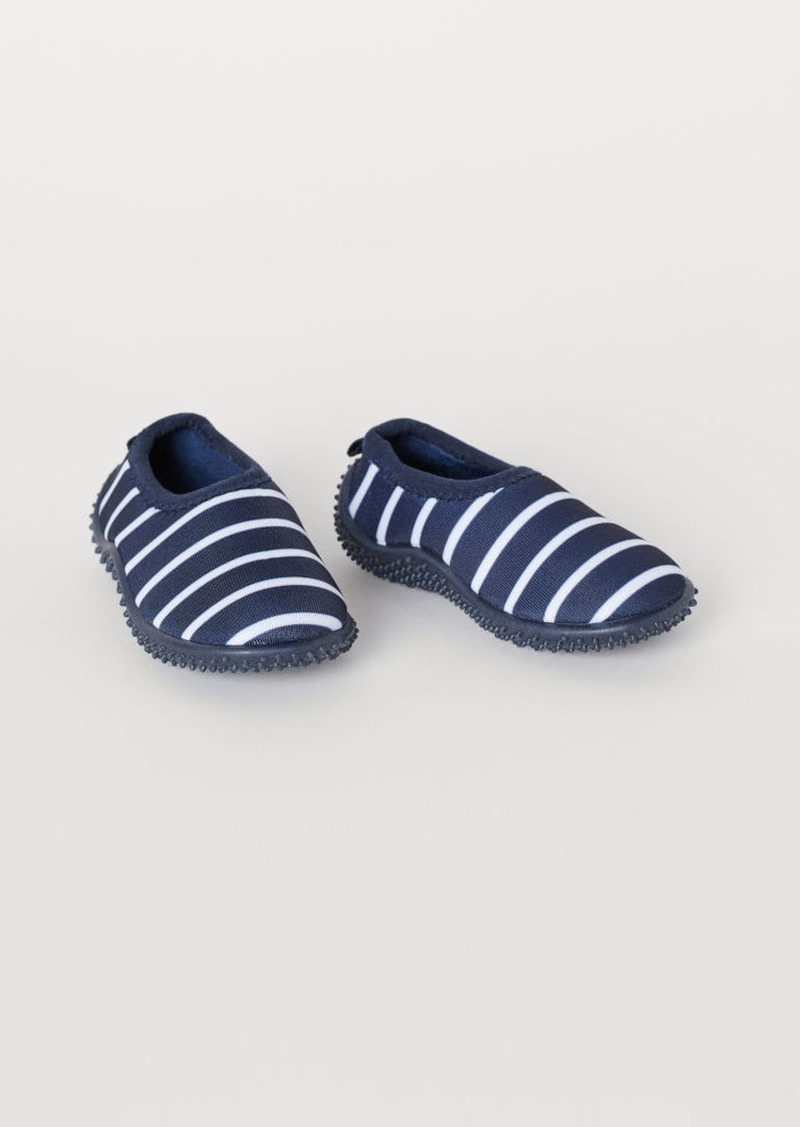 H&M H & M - Scuba-look Water Shoes - Blue