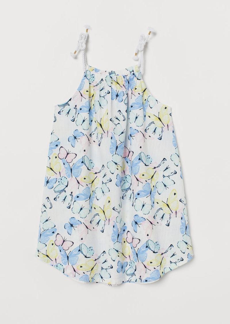 H&M H & M - Seersucker Dress - White