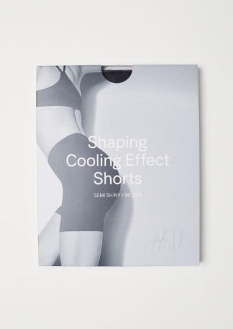 H&M H & M - Shaping Shorts 80 Denier - Black