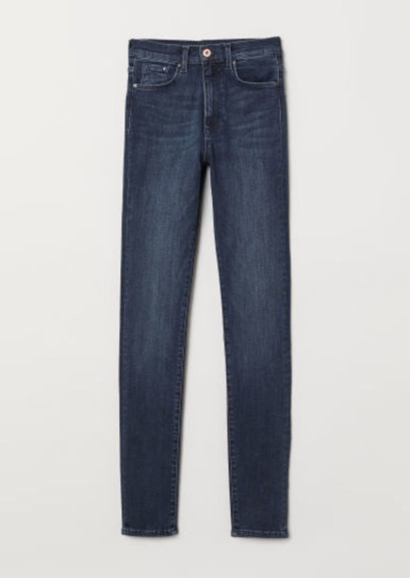H&M H & M - Shaping Skinny High Jeans - Blue