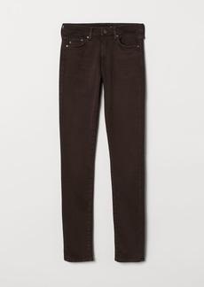 H&M H & M - Shaping Skinny Regular Jeans - Brown
