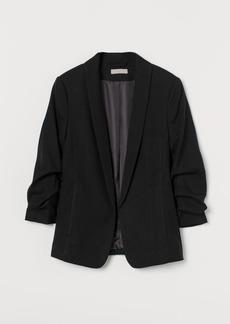 H&M H & M - Shawl-collar Jacket - Black