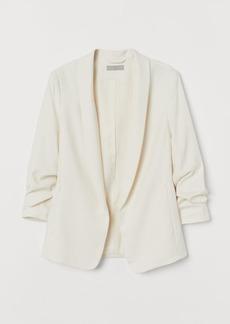 H&M H & M - Shawl-collar Jacket - White