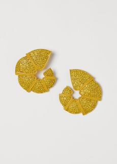 H&M H & M - Shell-shaped Earrings - Gold