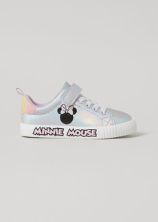 H&M H & M - Shimmery Printed Sneakers - Silver