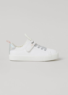 H&M H & M - Shimmery Sneakers - White