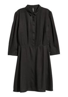 H&M H & M - Shirt Dress - Black