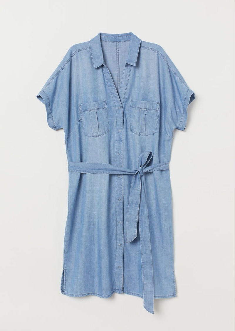 H&M H & M - Shirt Dress - Blue