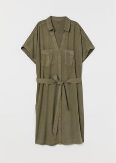 H&M H & M - Shirt Dress - Green