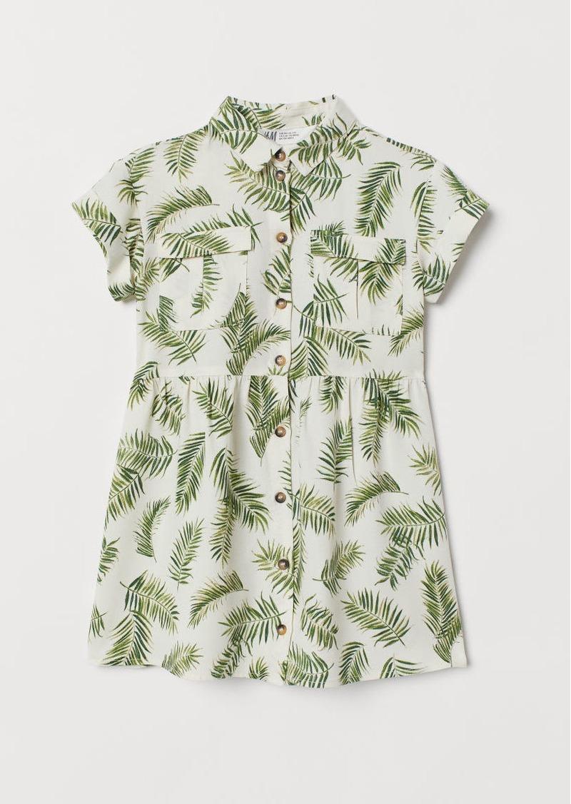 H&M H & M - Shirt Dress - White