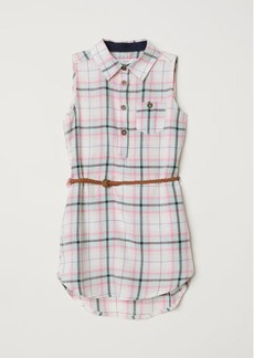 H&M H & M - Shirt Dress with Belt - Pink