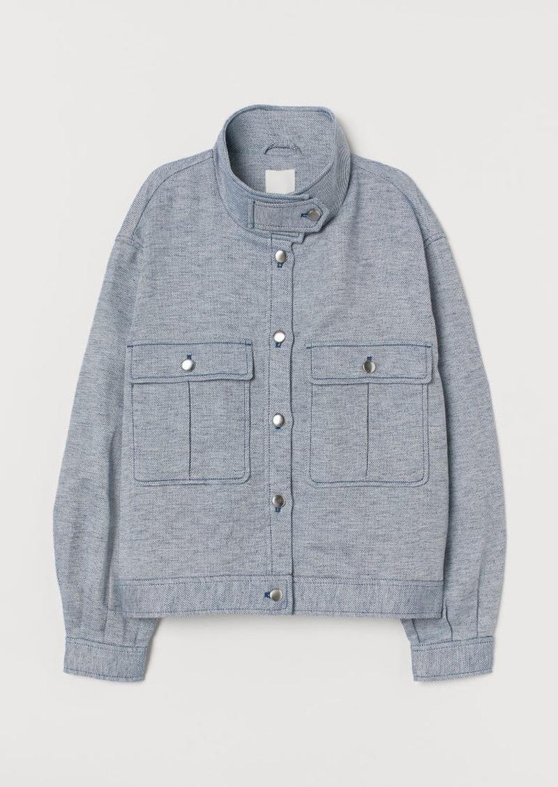 H&M H & M - Shirt Jacket - Blue